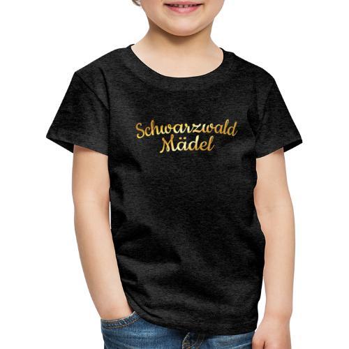 Schwarzwald Mädel (Goldgelb) - Kinder Premium T-Shirt