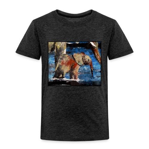 Baby-Elefant - Kinder Premium T-Shirt