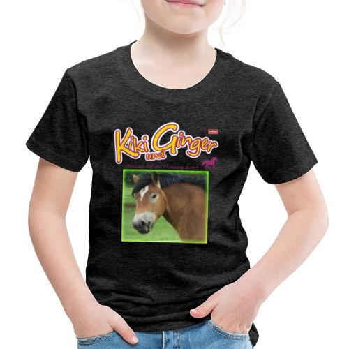 patame Kiki und Ginger mit Golden Sky grün - Kinder Premium T-Shirt