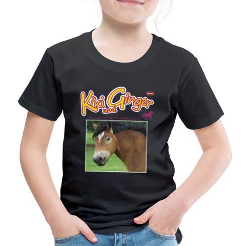 patame Kiki und Ginger mit Golden Sky weiss - Kinder Premium T-Shirt