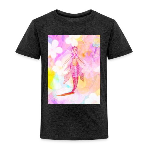 ®La Sirène de Fleurs (The Flower Mermaid) - Kids' Premium T-Shirt