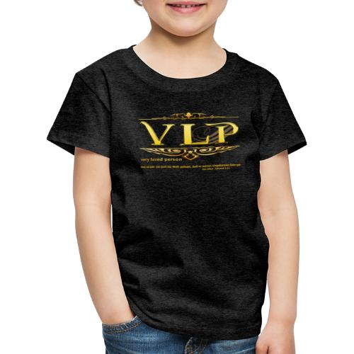 very loved person - Kinder Premium T-Shirt