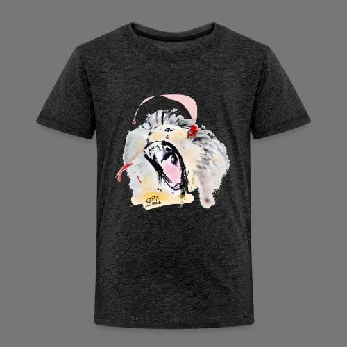 Lion rugissant Lpseb - T-shirt Premium Enfant