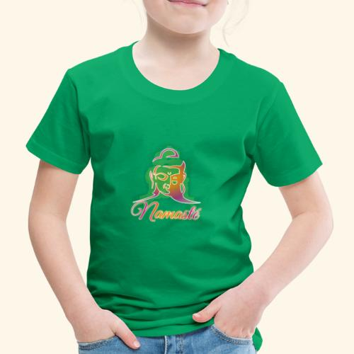Buddha - Namasté - Kinder Premium T-Shirt