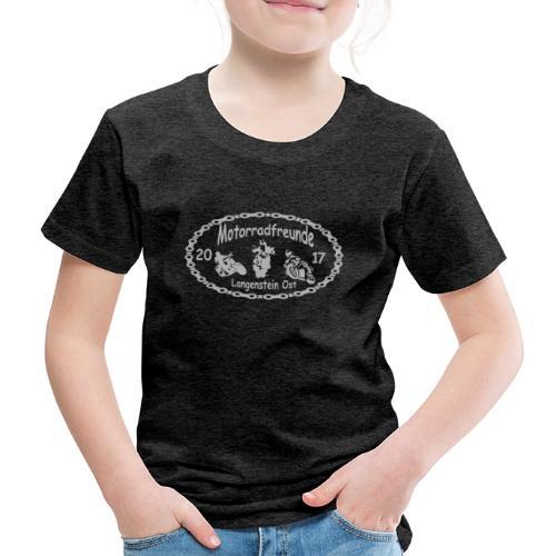 Motorradfreunde silber - Kinder Premium T-Shirt