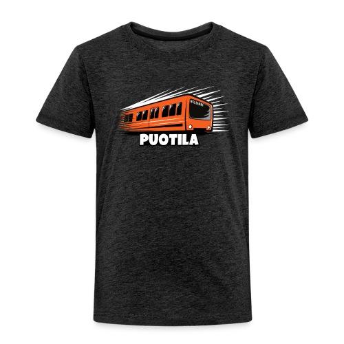 HELSINKI PUOTILA METRO T-Shirts, Hoodies, Gifts - Lasten premium t-paita