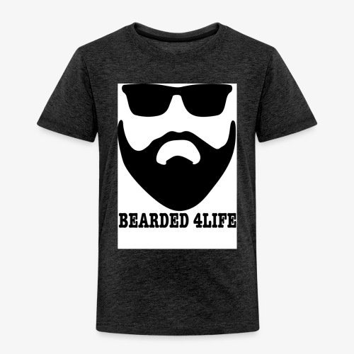 BEARDED 4LIFE - Premium-T-shirt barn