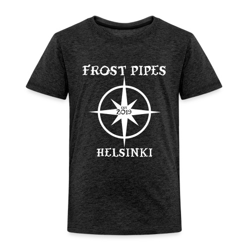 Frost Pipes Simple Compass - Kids' Premium T-Shirt