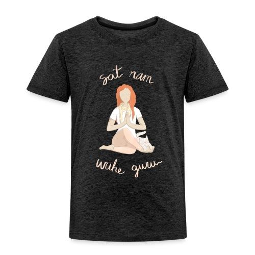 Meditando con mantras - Camiseta premium niño