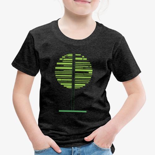 Albero verde - Maglietta Premium per bambini