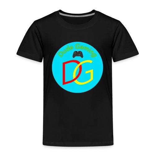 Dude Gaming - Børne premium T-shirt