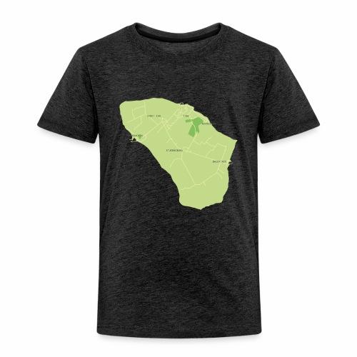 Hven den skønne ø mellem Sverige og Danmark - Børne premium T-shirt