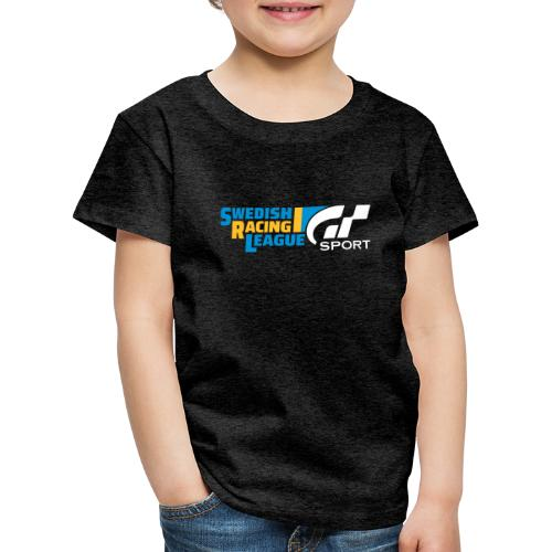 Swedish Racing League GT Sport vit - Premium-T-shirt barn