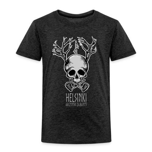 Frost Pipes Branch Skull - Kids' Premium T-Shirt
