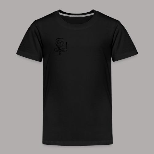 Zirkel, schwarz (vorne) - Kinder Premium T-Shirt