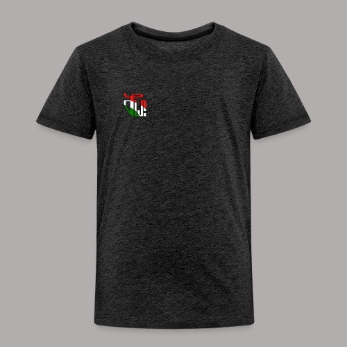 Zirkel r w g (vorne) - Kinder Premium T-Shirt