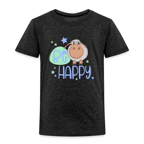 Be happy Schaf - Glückliches Schaf - Glücksschaf - Kinder Premium T-Shirt