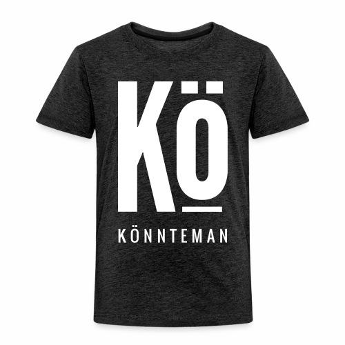 Das Kö Logo in weiß - Kinder Premium T-Shirt