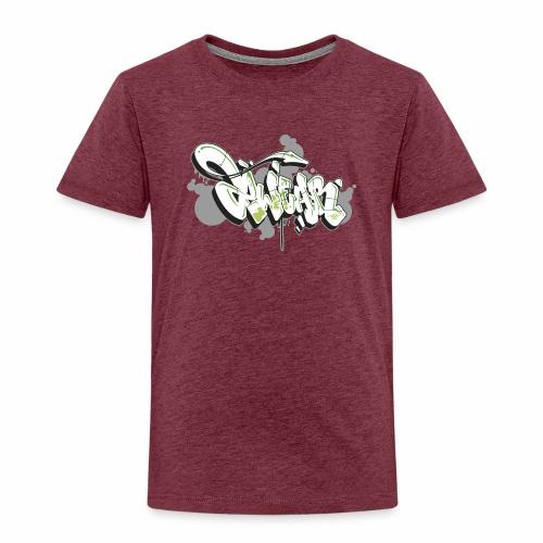 Mesk 2Wear graffiti style 7up ver02 - Børne premium T-shirt