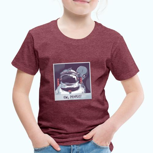 Aliens and astronaut - Kids' Premium T-Shirt