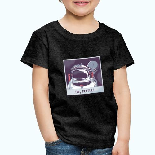 Aliens and astronaut - Kids' Premium T-Shirt