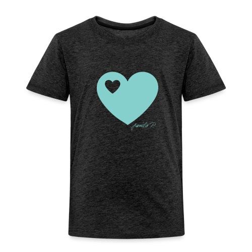 mint herz png - Kinder Premium T-Shirt