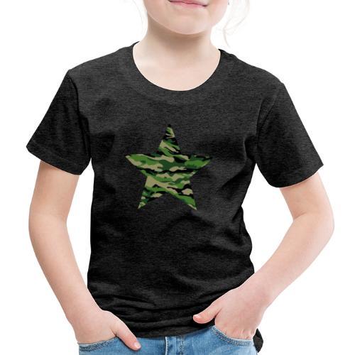 CamouflageStern - Kinder Premium T-Shirt