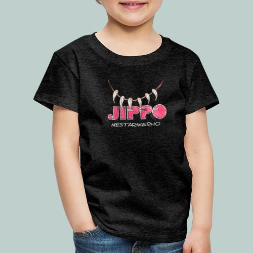 jippomestari_pink - Lasten premium t-paita