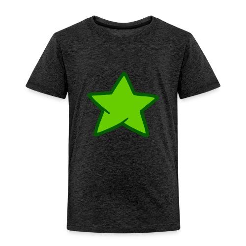 Estrella verde - Camiseta premium niño