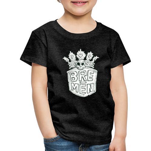 Bre-Men Abenteuer black & white - Kinder Premium T-Shirt