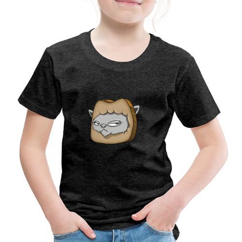 Katze und das Toastbrot - Kinder Premium T-Shirt