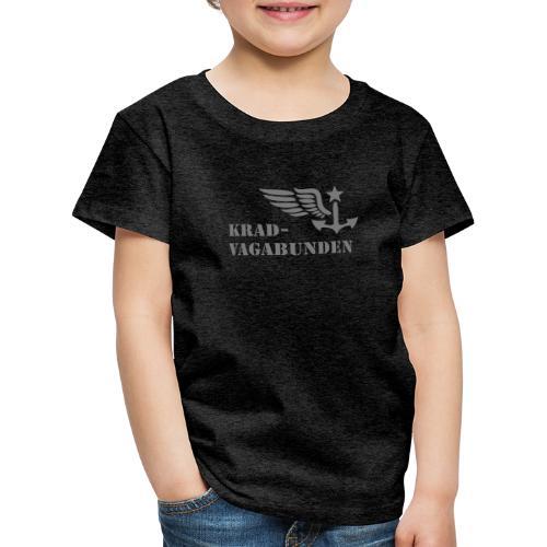 Krad-Vagabunden - Logo + Schriftzug - V2 - Kinder Premium T-Shirt