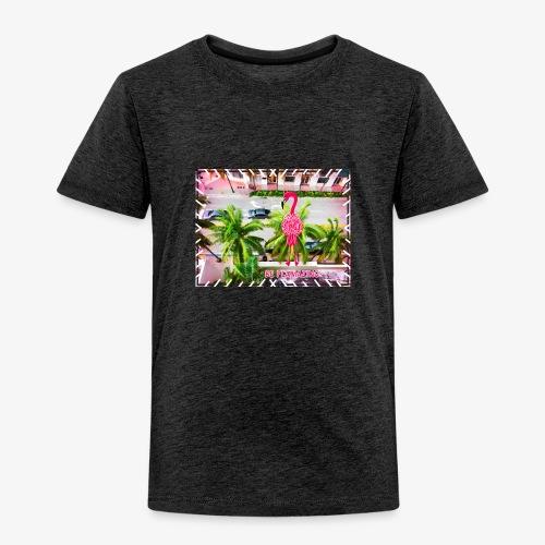 Be Flamazing! Ein Flamingo in Miami - Kinder Premium T-Shirt