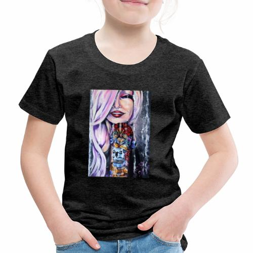 Sugar Babe Loves Scotland - Kids' Premium T-Shirt
