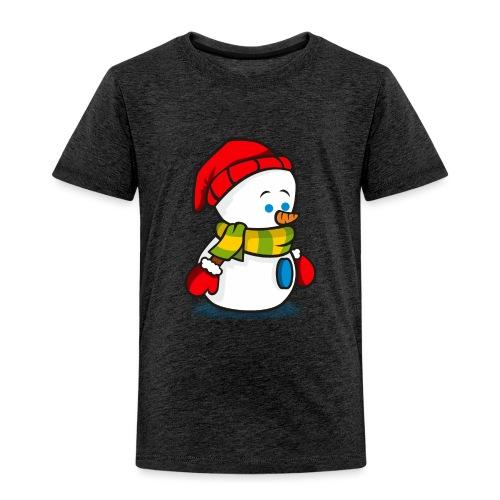 Muñeco de nieve. - Camiseta premium niño