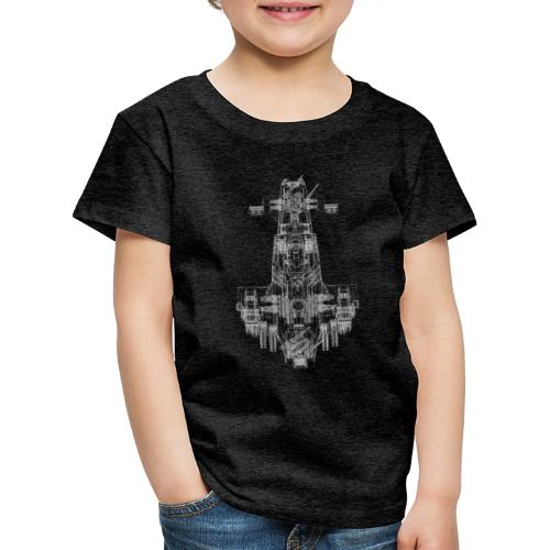 Scimitar Solo Wire 4000pi - Kinder Premium T-Shirt