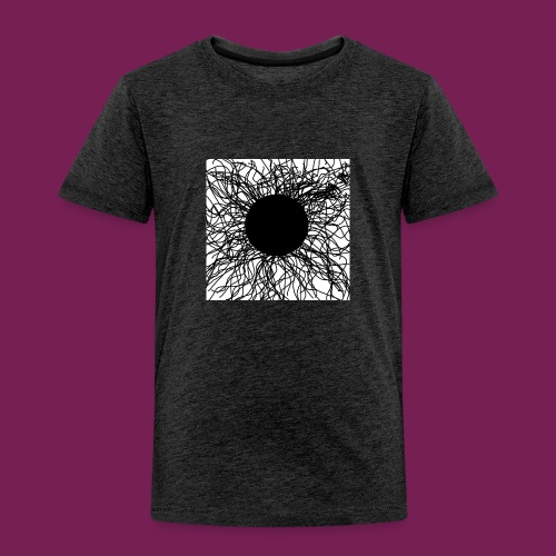 Mörker/ darknes - Premium-T-shirt barn