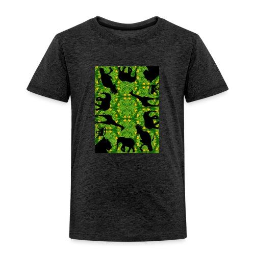 Im Dschungel - Retrolook - Kinder Premium T-Shirt