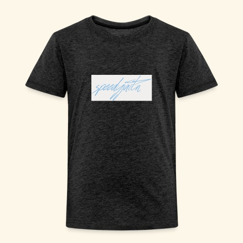 Speedyjaitn Signature Logo - Kids' Premium T-Shirt