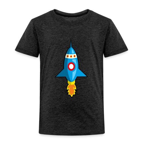 Nave espacial infantil. - Camiseta premium niño