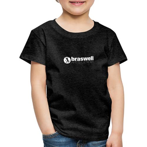 BAC shirt logo white - Kids' Premium T-Shirt