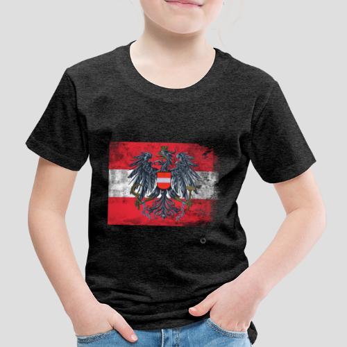 Österreich - Austria Flagge - Kinder Premium T-Shirt
