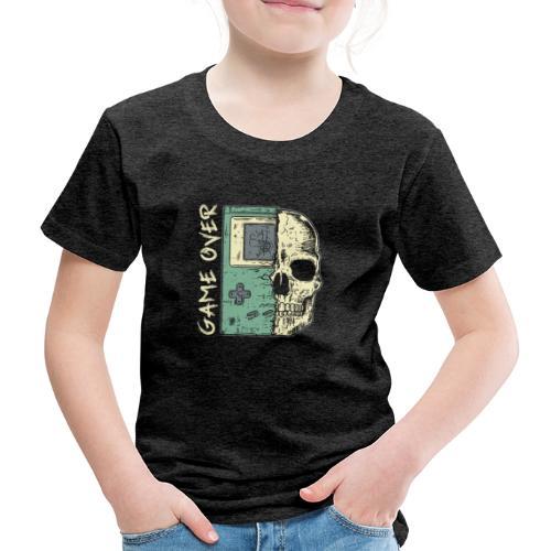 Game over Gaming Spruch Outfit für Zocker Gamer - Kinder Premium T-Shirt