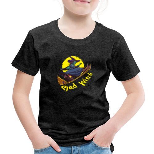 Bad Witch Outfit für Hexen im Kessel brauen - Kinder Premium T-Shirt