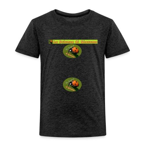 la scienza di giacomo logo maglietta PNG - Maglietta Premium per bambini