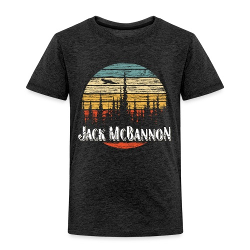 Jack McBannon - Forest Sundown - Kinder Premium T-Shirt