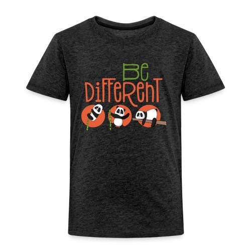 Be Different Panda Bär - be yourself - Kinder Premium T-Shirt
