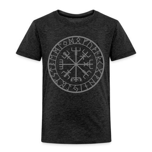 viking vegvisir runen - Kinderen Premium T-shirt