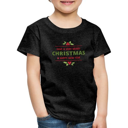 merry christmas, christmas present, christmas tree - Kids' Premium T-Shirt