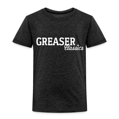 GC_Schriftzug_Logo_creme - Kinder Premium T-Shirt